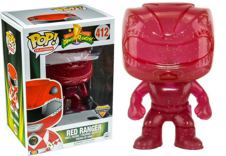 Power Rangers - Red Ranger Morphing US Exclusive Pop! Vinyl - Ozzie Collectables