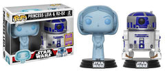 Princess Leia & R2-D2 2 Pack - Star Wars POP! Vinyl 2017 San Diego Summer Convention Exclusive [RS] - Ozzie Collectables