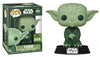 Star Wars - Yoda (Military Green) ECCC 2021 Spring Convention Exclusive Pop! Vinyl