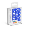 Oakie Doakie Dice D6 16 mm Translucent - Blue (12) - Ozzie Collectables