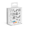 Oakie Doakie Dice D6 16 mm Solid - White (12) - Ozzie Collectables