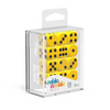 Oakie Doakie Dice D6 16 mm Solid - Yellow (12) - Ozzie Collectables