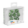 Oakie Doakie Dice RPG Set Marble - Green (7) - Ozzie Collectables