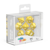Oakie Doakie Dice RPG Set Marble - Yellow (7) - Ozzie Collectables