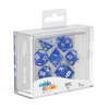 Oakie Doakie Dice RPG Set Speckled - Blue (7) - Ozzie Collectables
