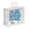 Oakie Doakie Dice RPG Set Speckled - Light Blue (7) - Ozzie Collectables
