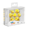 Oakie Doakie Dice RPG Set Solid - Yellow (7) - Ozzie Collectables