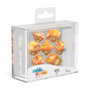 Oakie Doakie Dice RPG Set GemiDice - Sunstone (7) - Ozzie Collectables