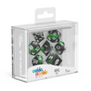 Oakie Doakie Dice RPG Set Glow in the Dark - Biohazard (7) - Ozzie Collectables