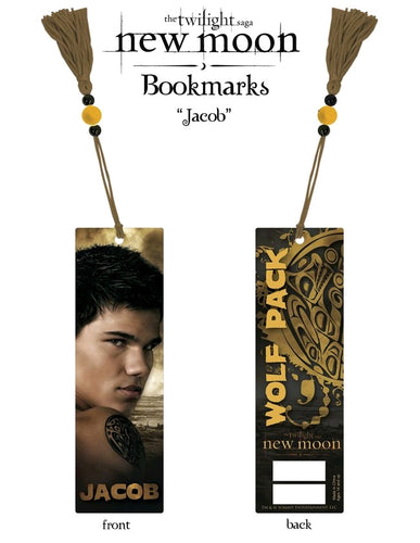 The Twilight Saga: New Moon - Bookmark Jacob (Wolf Pack) - Ozzie Collectables