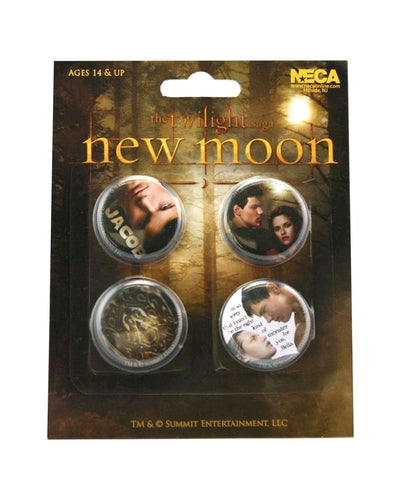 The Twilight Saga: New Moon - Pin Set Of 4 Jacob - Ozzie Collectables