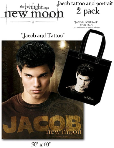The Twilight Saga: New Moon - Tote & Fleece 2-Pack Jacob Tattoo - Ozzie Collectables