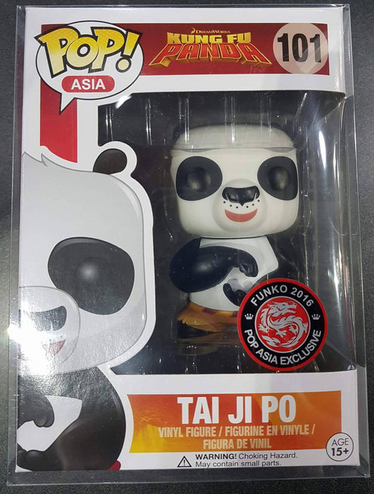 Tai Ji Po - Kung Fu Panda Funko 2016 POP! Asia Exclusive Vinyl - Ozzie Collectables