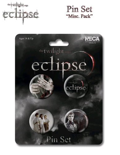 The Twilight Saga: Eclipse - Pin Set Of 4 Misc Pack - Ozzie Collectables
