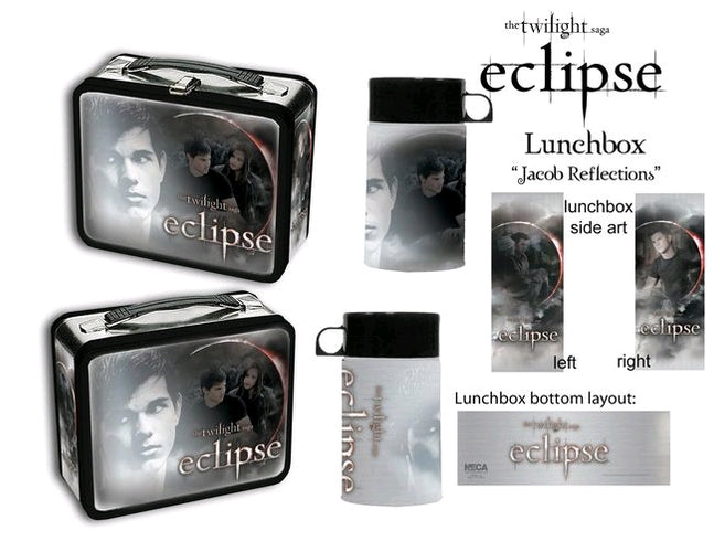 The Twilight Saga: Eclipse - Lunchbox & Flask Jacob Reflections - Ozzie Collectables
