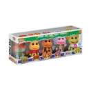 POP Television - Flocked Fraggle Rock 5 Pack Funko Shop Exclusive  - Ozzie Collectables