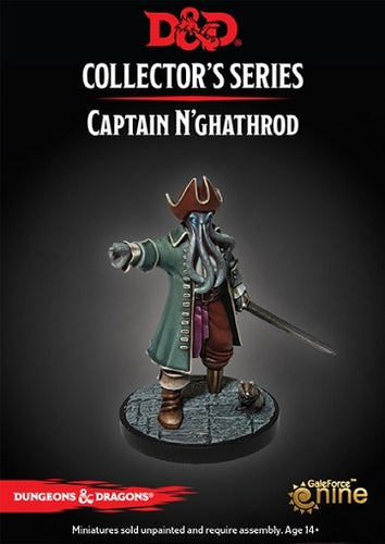 D&D Collectors Series Miniatures Waterdeep Dungeon of the Mad Mage Captain Nghathrod - Ozzie Collectables