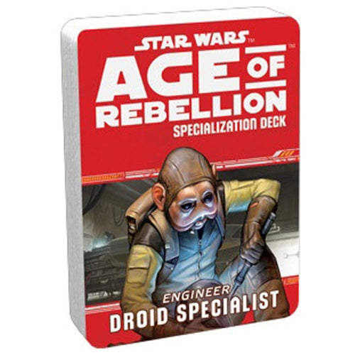 Star Wars RPG Age of Rebellion Droid Specialist Deck