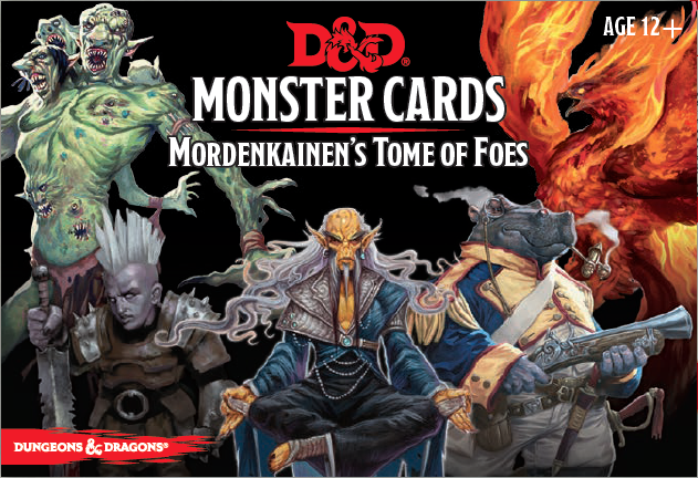 D&D Spellbook Cards Mordenkainens Tome of Foes Deck - Ozzie Collectables