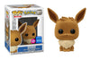 Pokemon - Eevee (Flocked) Wondercon 2020 Exclusive Pop! Vinyl - Ozzie Collectables