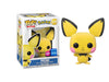 Pokemon - Pichu (Flocked) Wondercon 2020 Exclusive Pop! Vinyl - Ozzie Collectables