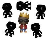 Notorious B.I.G Bundle - 5 Mystery 2018 Comic-Con POP! Vinyls and 1 guaranteed Notorious B.I.G - Biggie with Crown and Glasses 2018 New York Fall Convention Exclusive Pop! Vinyl
