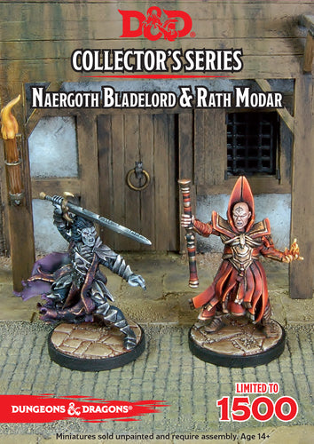D&D Collectors Series Miniatures Naergoth Bladelord & Rath Modar - Ozzie Collectables
