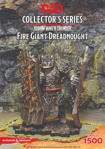 D&D Collectors Series Miniatures Storm Kings Thunder Fire Giant Dreadnought (1 Fig) - Ozzie Collectables