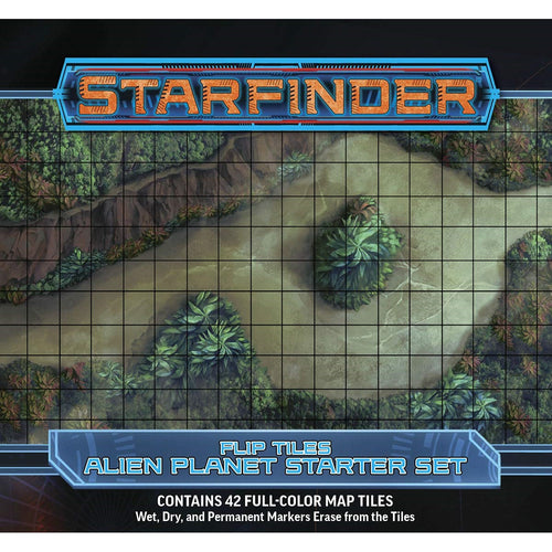 Starfinder RPG Flip-Tiles: Alien Planet Starter Set
