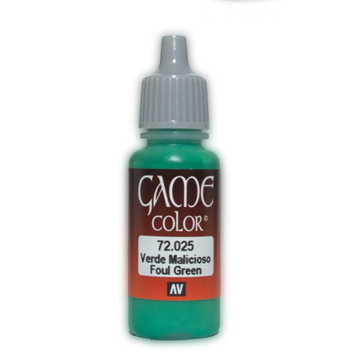 Vallejo Game Colour - Foul Green 17 ml