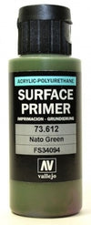 Vallejo Surface Primer NATO Green 60 ml - Ozzie Collectables