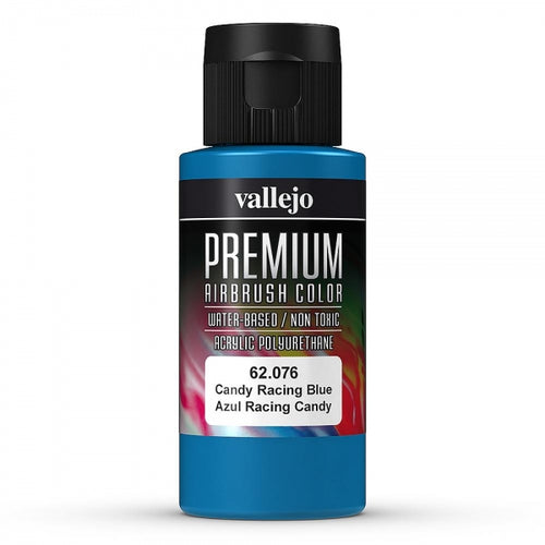 Vallejo Premium Colour Candy Racing Blue 60 ml - Ozzie Collectables
