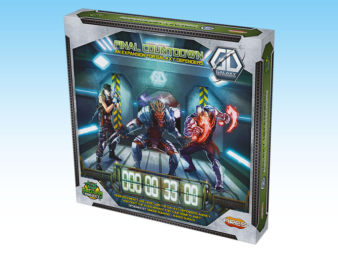 Galaxy Defenders Final Countdown - Ozzie Collectables