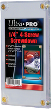 "Ultra Pro - 1/4"" Thick Screwdown Card Protector - Ozzie Collectables"