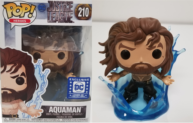 Aquaman Justice League - DC Legion of Collectors US Exclusive Pop! Vinyl - Ozzie Collectables
