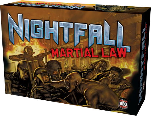Nightfall - Martial Law Deck-Building Game Expansion - Ozzie Collectables