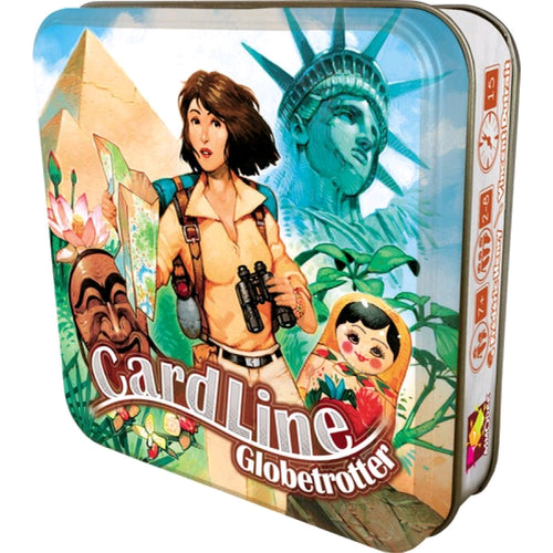 Cardline Globetrotter - Card Game - Ozzie Collectables