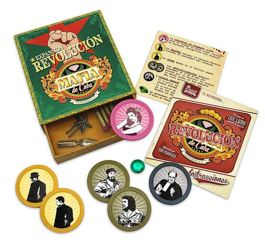Mafia de Cuba - Revolucion Expansion - Ozzie Collectables