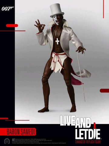 "James Bond: Live and Let Die - Baron Samedi 12"" 1:6 Scale Action Figure on Ozzie Collectables"
