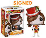 Borderlands - Mad Moxxi Red US Exclusive Signed POP! Vinyl