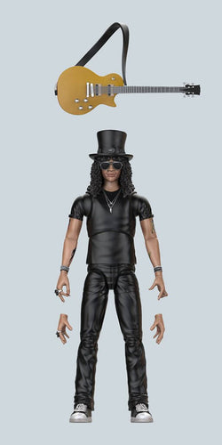 "GUN N' ROSES Slash BST AXN 5"" Action Figure - Ozzie Collectables"