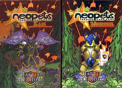 Neopets - Meridell Decks (Display of 8) - Ozzie Collectables
