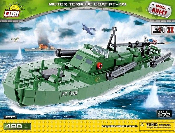 Small Army - 480 piece Motor Torpedo Boat PT-109 on Ozzie Collectables