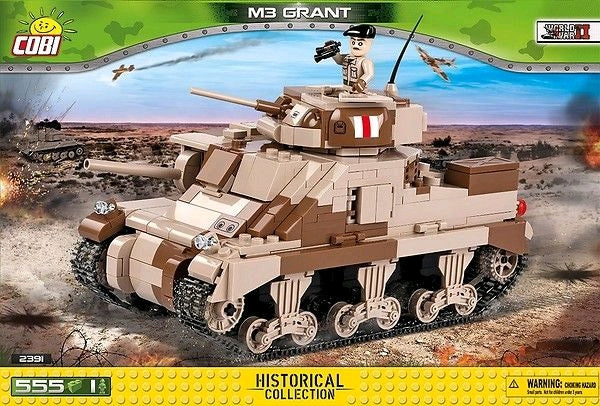 World War II - 550 piece M3 Grant Medium Tank on Ozzie Collectables
