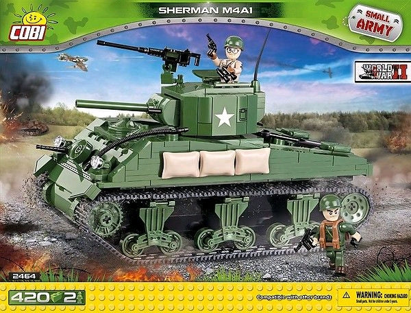 Small Army - 400 piece Sherman M4A1 on Ozzie Collectables