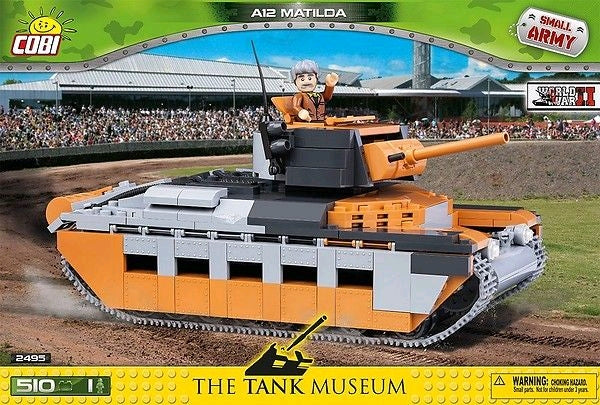 Small Army - 510 piece A12 Matilda on Ozzie Collectables