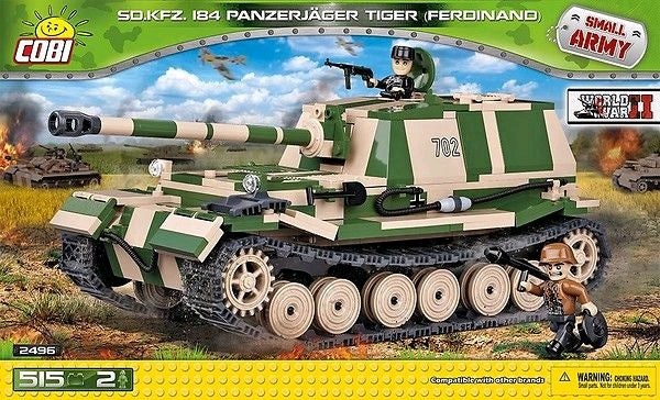 Small Army - 515 piece Sd.Kfz.184 Panzerjager Tiger (Ferdinand) on Ozzie Collectables