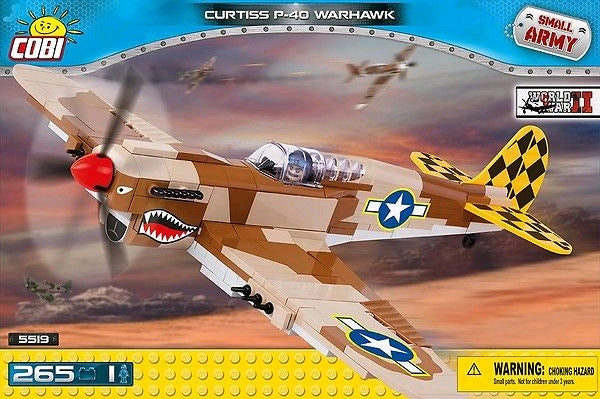 Small Army - 265 piece Curtiss P40K Warhawk on Ozzie Collectables