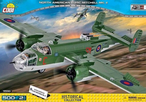 Small Army - 500 piece North American B-25C Mitchell Mk II on Ozzie Collectables
