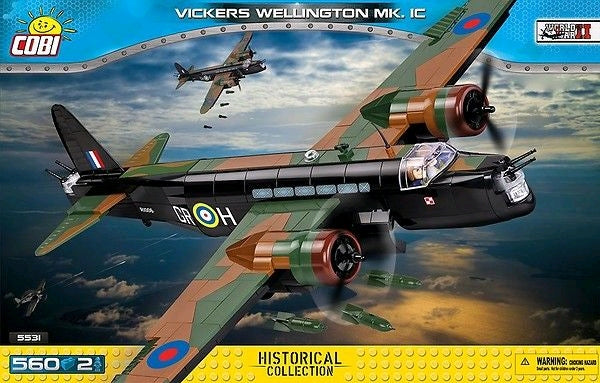 Small Army - 560 piece Vickers Wellington Mk 1C on Ozzie Collectables